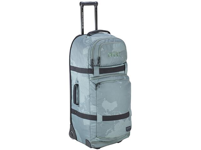 EVOC World Traveller Travel Luggage 125l olive